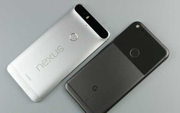 Google Pixel UI comparison with the Nexus: not very ...