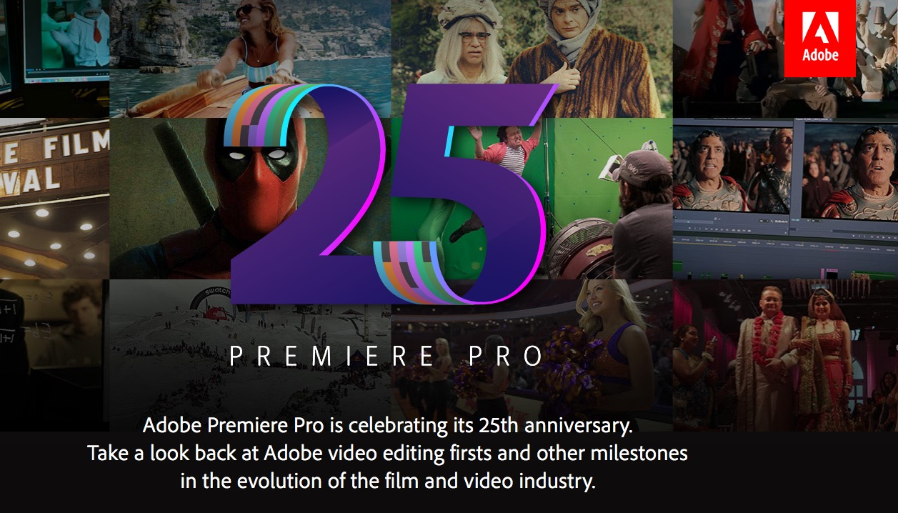 25-year-old Adobe Premiere more powerful: support Touch Bar, Surface