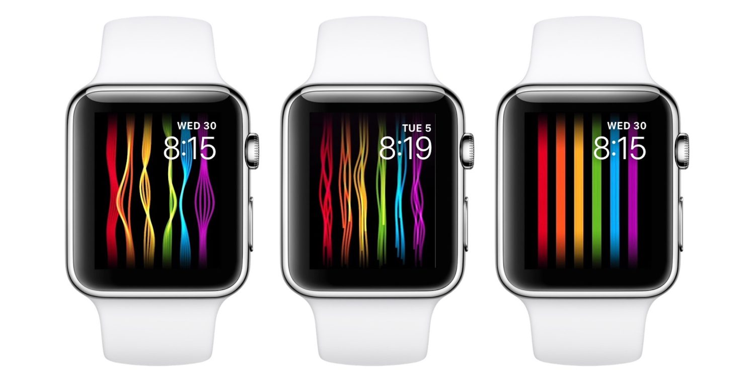 Apple Watch new rainbow dial wants early trial?_China IT News