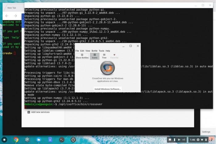 New CodeWeavers: Running Windows Apps on Chromebooks_China IT News