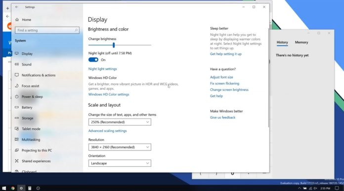 Windows 10 RS5 Fix BUG: Keep the original size of the window after