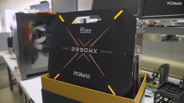 AMD 32 core Threadripper 2990WX processor makes Intel