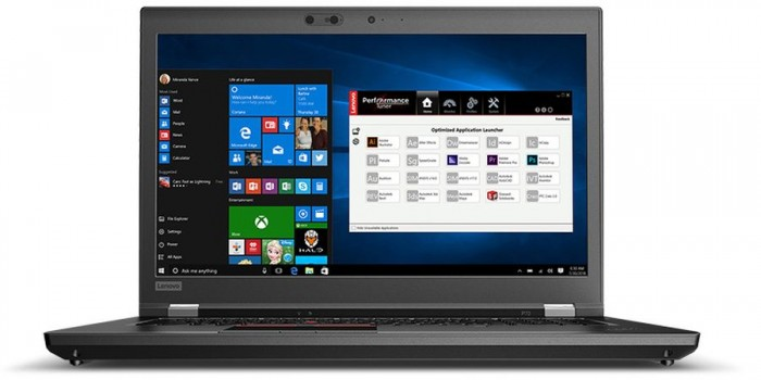 Lenovo ThinkPad P72 Mobile Workstation release: Super capacity