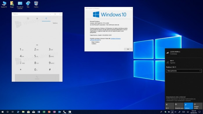 Windows 10 19H1 latest preview version of Build 18234 released
