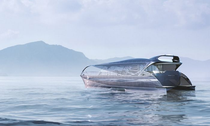 SolarImpact showcases the concept of a solar-powered ocean