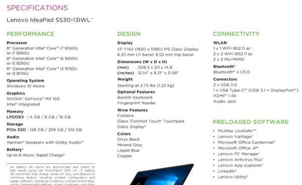 Intel 9 Core i7/i5/i3 New Exposure: Low Voltage Whiskey Lake