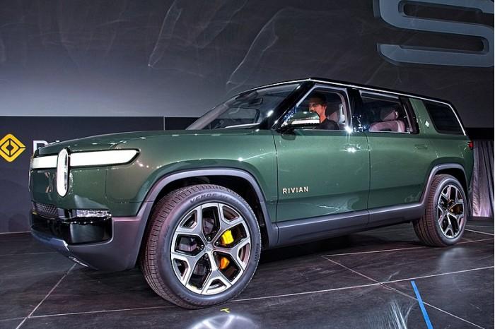 Ford invests in electric pickup truck company Rivian for