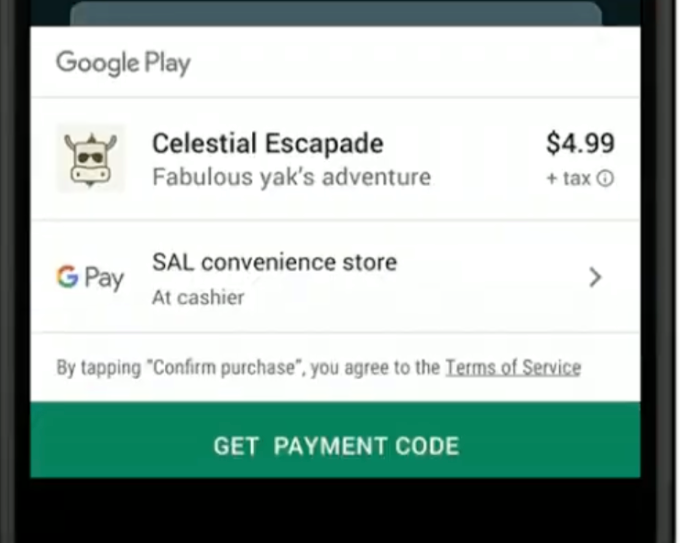 Google's Cash Buy Android Game Application Options for