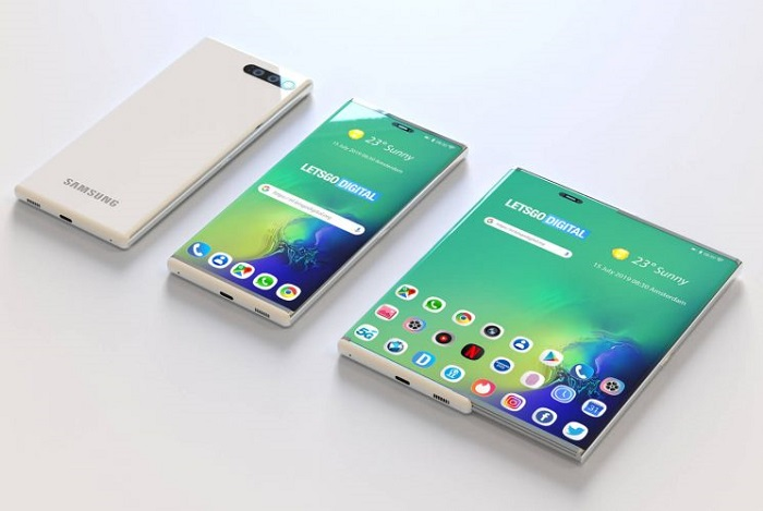 New patent exposure for Samsung stretch screen: Galaxy S11