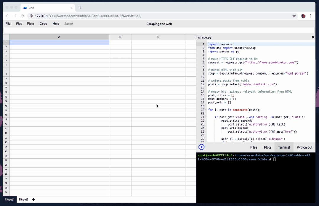 Goodbye Excel! I have open sourced an artifact-level IDE