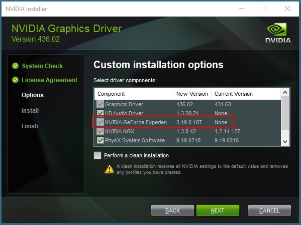NVIDIA Annual Drive Second Rollover: Forced GeForce